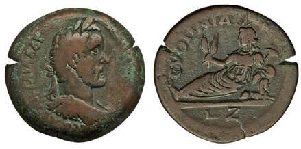 The Great Sphinx - Ancient Numismatic Mythology